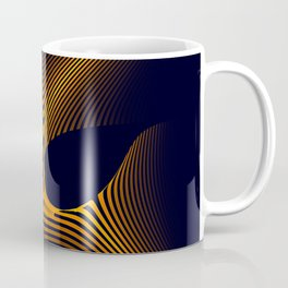 Mask of Power 3D Fractal Render Coffee Mug