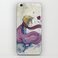 little prince iPhone & iPod Skins featuring Little prince by Nikolazza