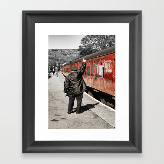 The Whistle Blower Framed Art Print