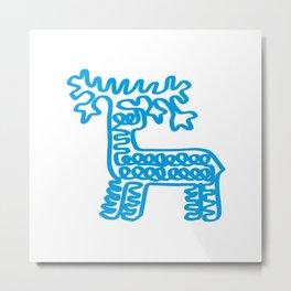 Cute Deer Metal Print