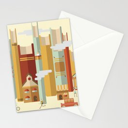 Big Books, Little People Stationery Cards