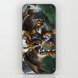 Tiger Dragon iPhone Skin