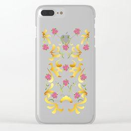 Meadow Picnic Clear iPhone Case