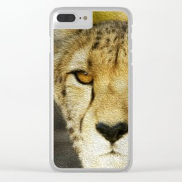 Heart Nose Clear iPhone Case