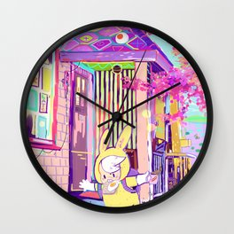 I'm late! Wall Clock