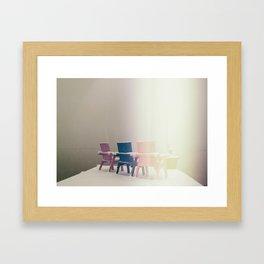 """""""White-out""""  Framed Art Print"""