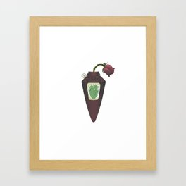 Love Hurts Framed Art Print