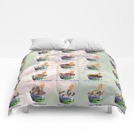 Ben & Jerry's Ice Cream Scoops Comforters