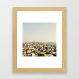 Los LA Framed Art Print