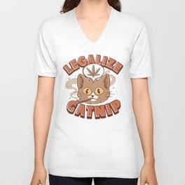 Catnip Unisex V-Neck