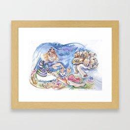 RB Admirer Framed Art Print