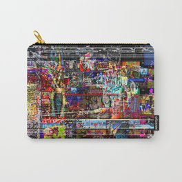 Lie-dream Of An Art School Soul Scene (or, He's Addicted To The Time-track) [A.N.T.S. Series] Carry-All Pouch