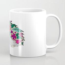 Woodland Hedgehog Illustration Coffee Mug