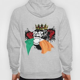 The King Of Evil With Crown Hoody