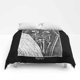 Toujours - Skeleton Lovers Comforters