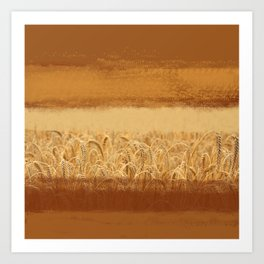 Wheaten Art Print