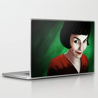 amelie Laptop & iPad Skins featuring Amelie by Jon Cain