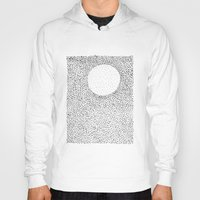 dots Hoodies featuring dots by Ioana Luscov