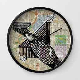Denver, Colorado Wall Clock
