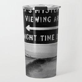 Marfa Mystery Lights, Texas Travel Mug