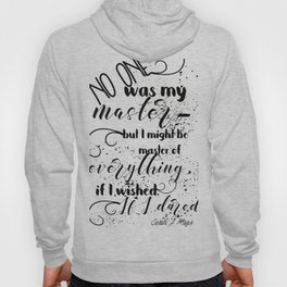 A Court of Mist and Fury Inspired, Master of Everything Hoody