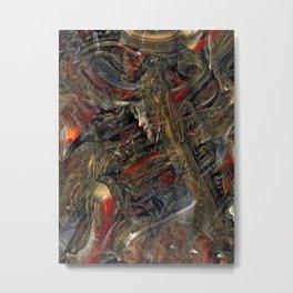 Abstruse interpretation of a painting by Botticelli  (Version 1) Metal Print
