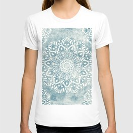 MINT LIGHT MANDALAS FOR JULY T-shirt