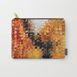Abstract Modern Art - Pieces 8 - Sharon Cummings Carry-All Pouch