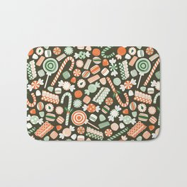 Christmas Candy Bath Mat