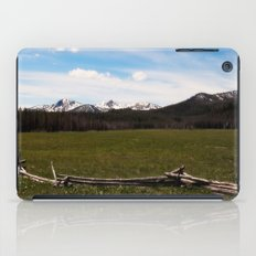 mountains. iPad Case