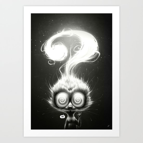 Question! Art Print