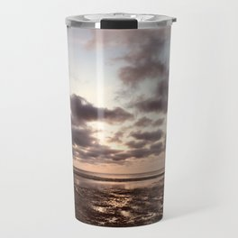 Clouds On The Water Travel Mug