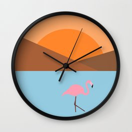 Sunset Africa Wall Clock