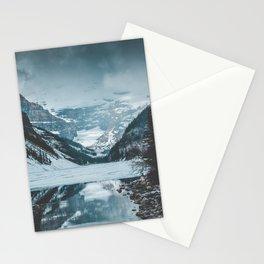 Moody Lake Louise Stationery Cards