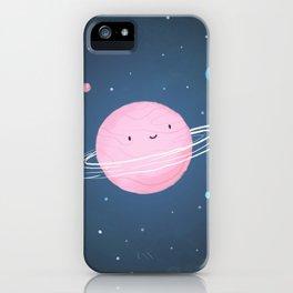 Little cute planet iPhone Case