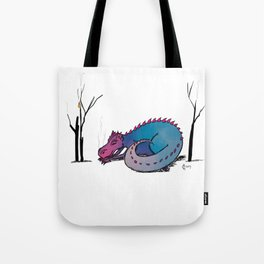 Let Sleeping Dragons Lie Tote Bag