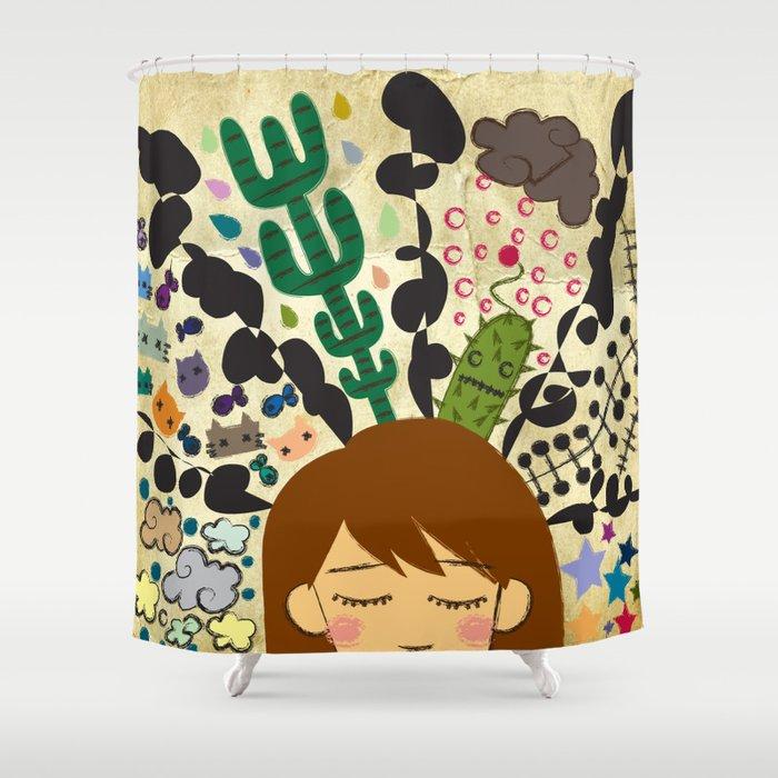 A Mind of a Dork Shower Curtain
