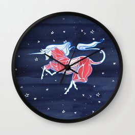 Cross-Section of a Unicorn Wall Clock