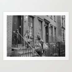 NYC Family  Art Print