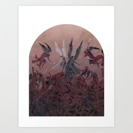 Reylo - Fight with the Praetorian Demons Art Print