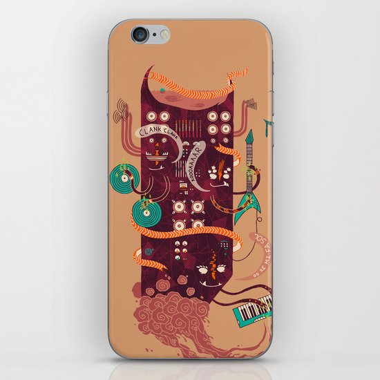 Power Trio iPhone Skin