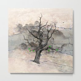 Jake's Tree Metal Print