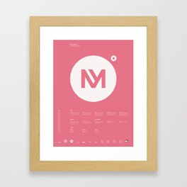 Minervalerio Framed Art Print