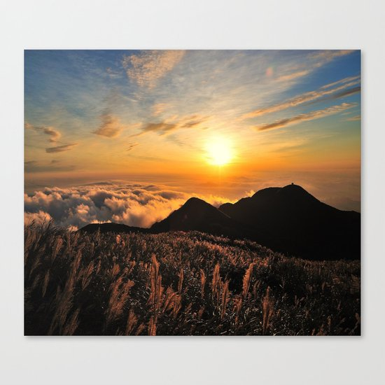 sunrises Canvas Print
