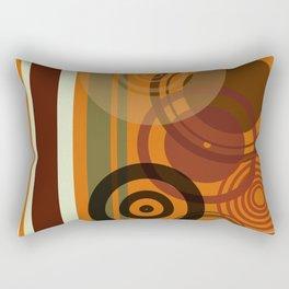 Retro Color 01 Rectangular Pillow