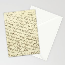 Original Paganini letter Stationery Cards