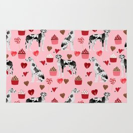 Great Dane valentines day dog person must have gifts to say i ruff you Rug
