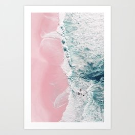 sea of love II Art Print