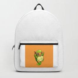 TMNT_POKET_MONSTER_orange Backpack
