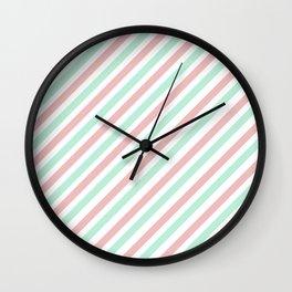 Candycane Wall Clock